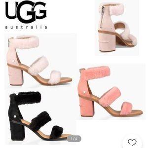 Light pink Ugg heels